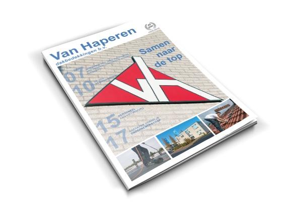Van Haperen Dakbedekkingen<br>Jubileummagazine