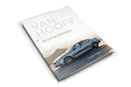 Van Hooff<br>Jubileummagazine