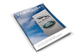 Van Mossel Jaguar Landrover<br>Openingsmagazine