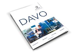 Peugeot DAVO<br>Jubileummagazine